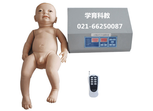 数字遥控式婴儿心肺听诊电脑模拟人