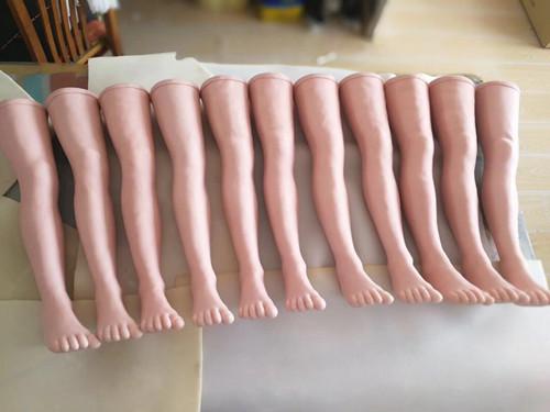 针灸腿部训练模型