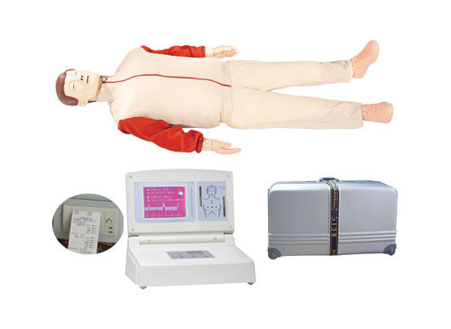 CPR680大屏幕液晶彩显高级电脑心肺复苏模拟人