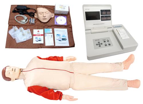 CPR590液晶彩显高级电脑心肺复苏模型
