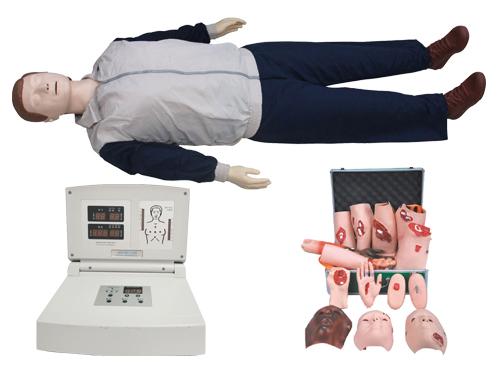 高级多功能心肺复苏模拟人(心肺复苏、创伤)