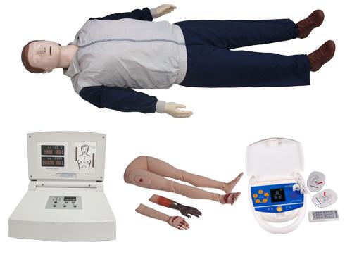 高级多功能心肺复苏模拟人(心肺复苏、创伤四肢、AED除颤)
