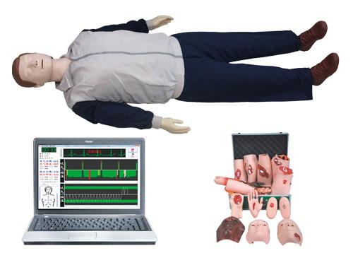 电脑急救心肺复苏模拟人(心肺复苏、创伤)