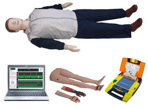 心肺复苏创伤四肢除颤模拟人