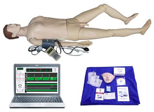 电脑综合急救心肺复苏模拟人