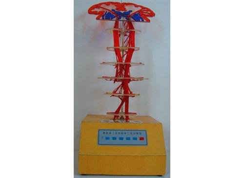 锥体系(皮质核束)电动模型