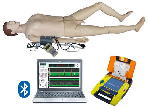 电脑综合急救心肺复苏模拟人(无线版-心肺复苏、血压测量、AED除颤、基础护理)