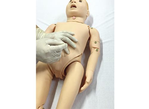 儿童腹腔穿刺训练模型